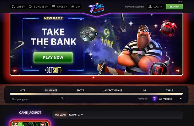 7bit Casino Review Bitcoin Casinos List